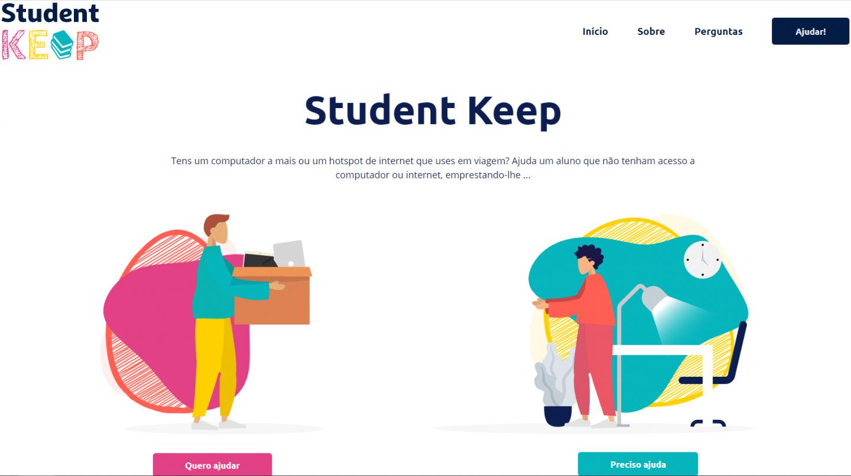 homepage Student Keep