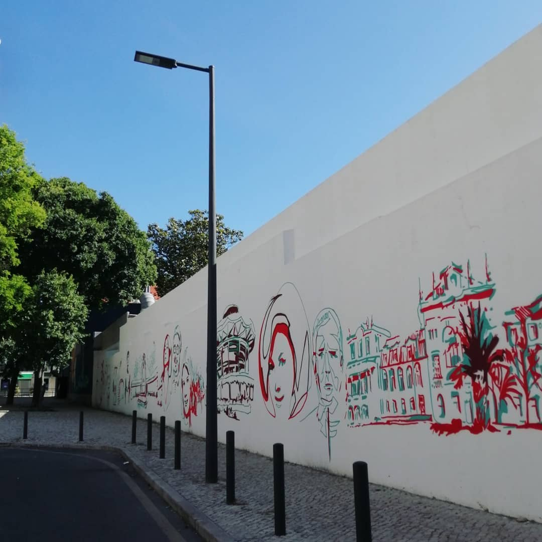 mural em benfica