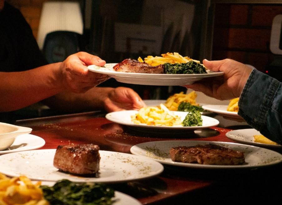 La Paparrucha: Buffet de comida portuguesa