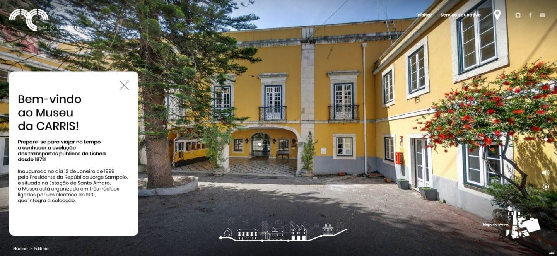 museu da carris - visita virtual