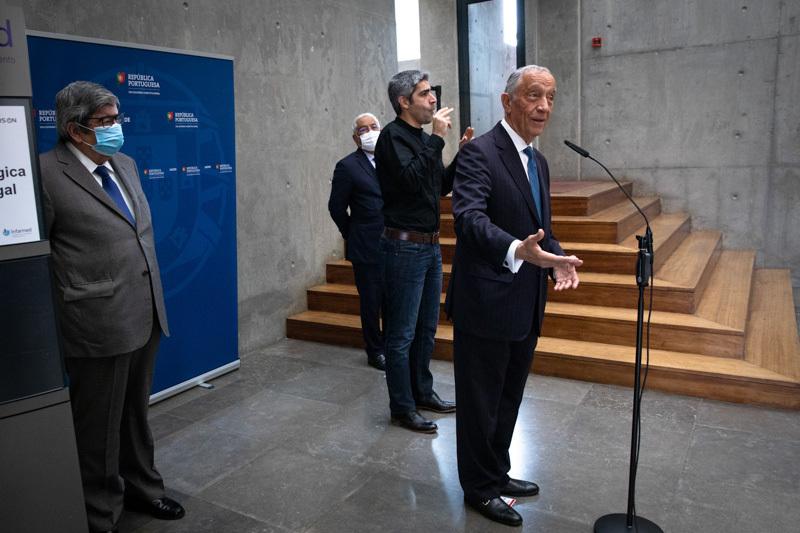 Presidente da República elogia o comportamento dos portugueses no desconfinamento