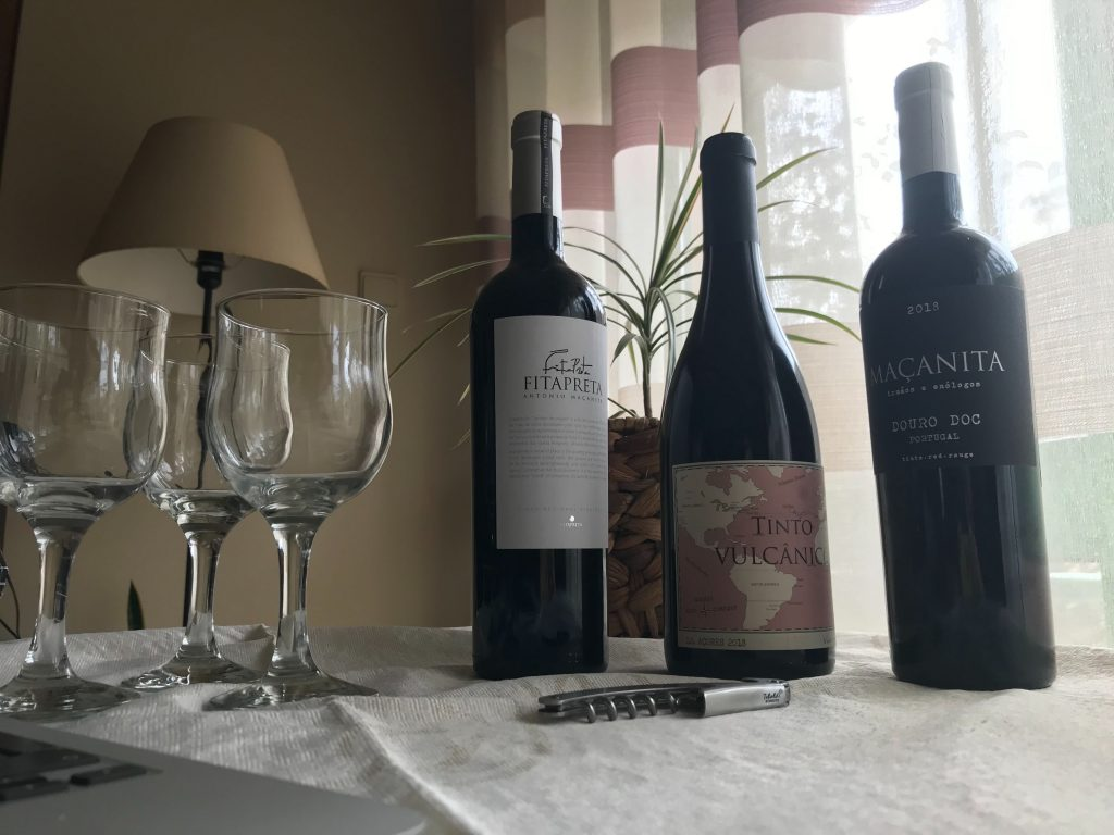 Participámos na degustação online do Wine In – The Online Experience