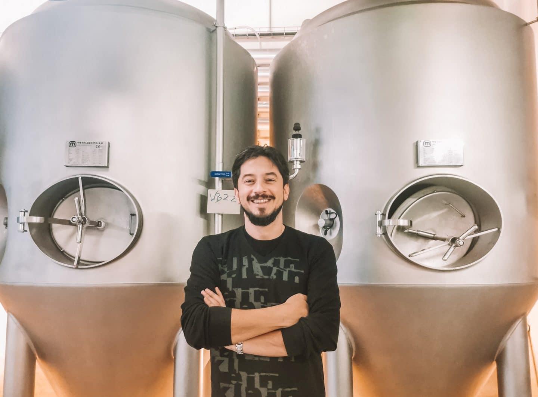 Ramon Garcia, mestre cervejeiro da cerveja Nortada