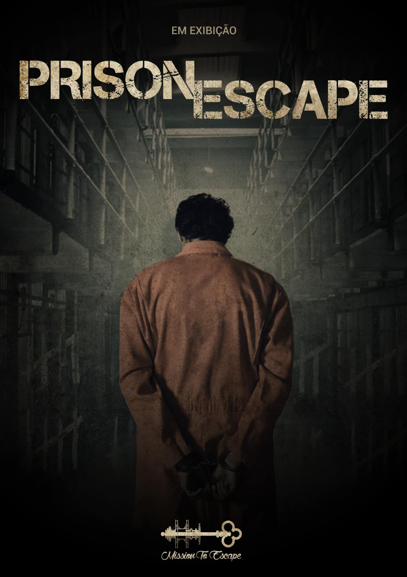 cartaz escape room mission to escape