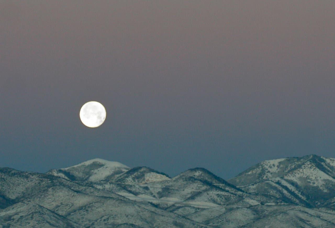 a última super-lua do ano