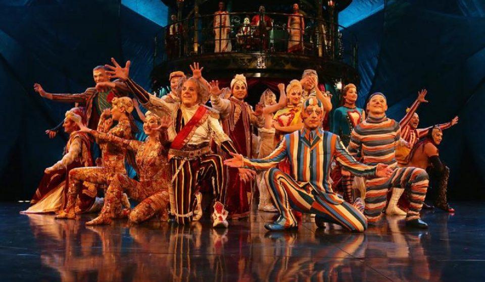 Cirque du Soleil pede insolvência para evitar falência