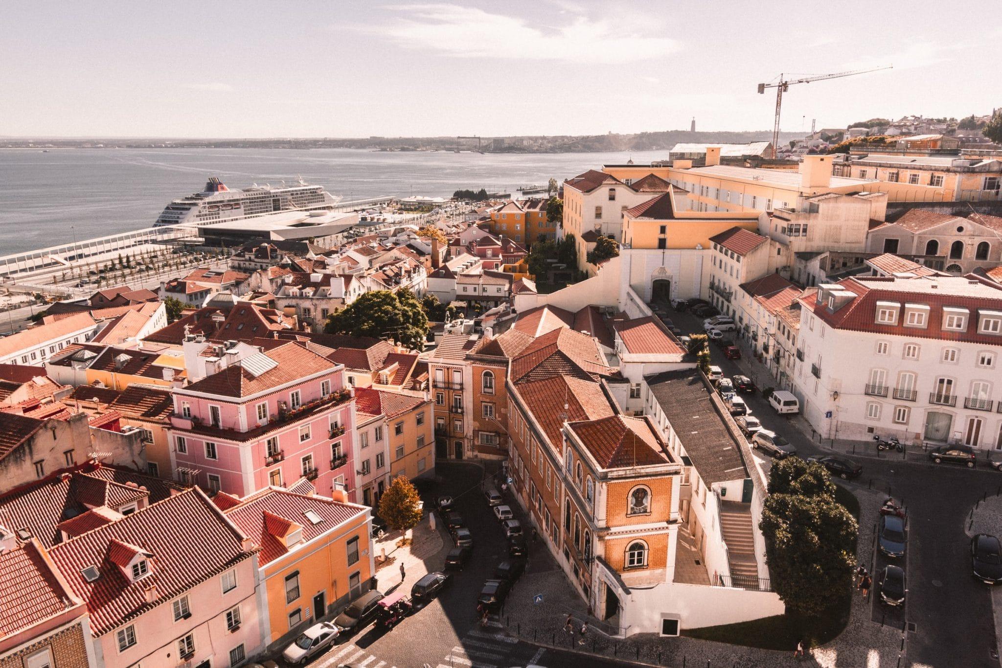 Lisboa vista de cima
