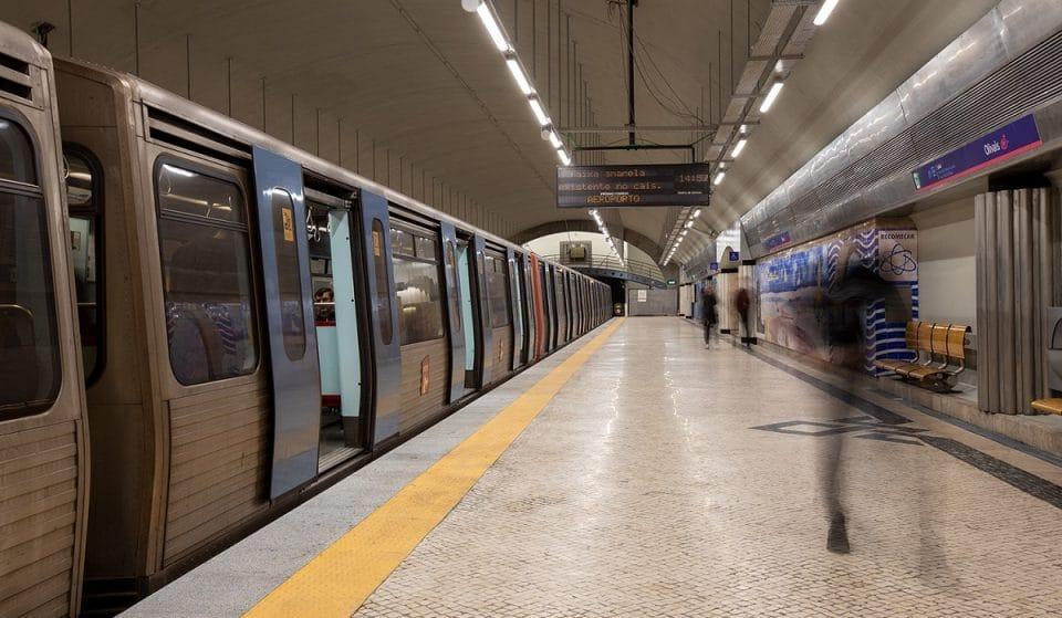 Estação de Arroios reabre amanhã, dia 14 de setembro