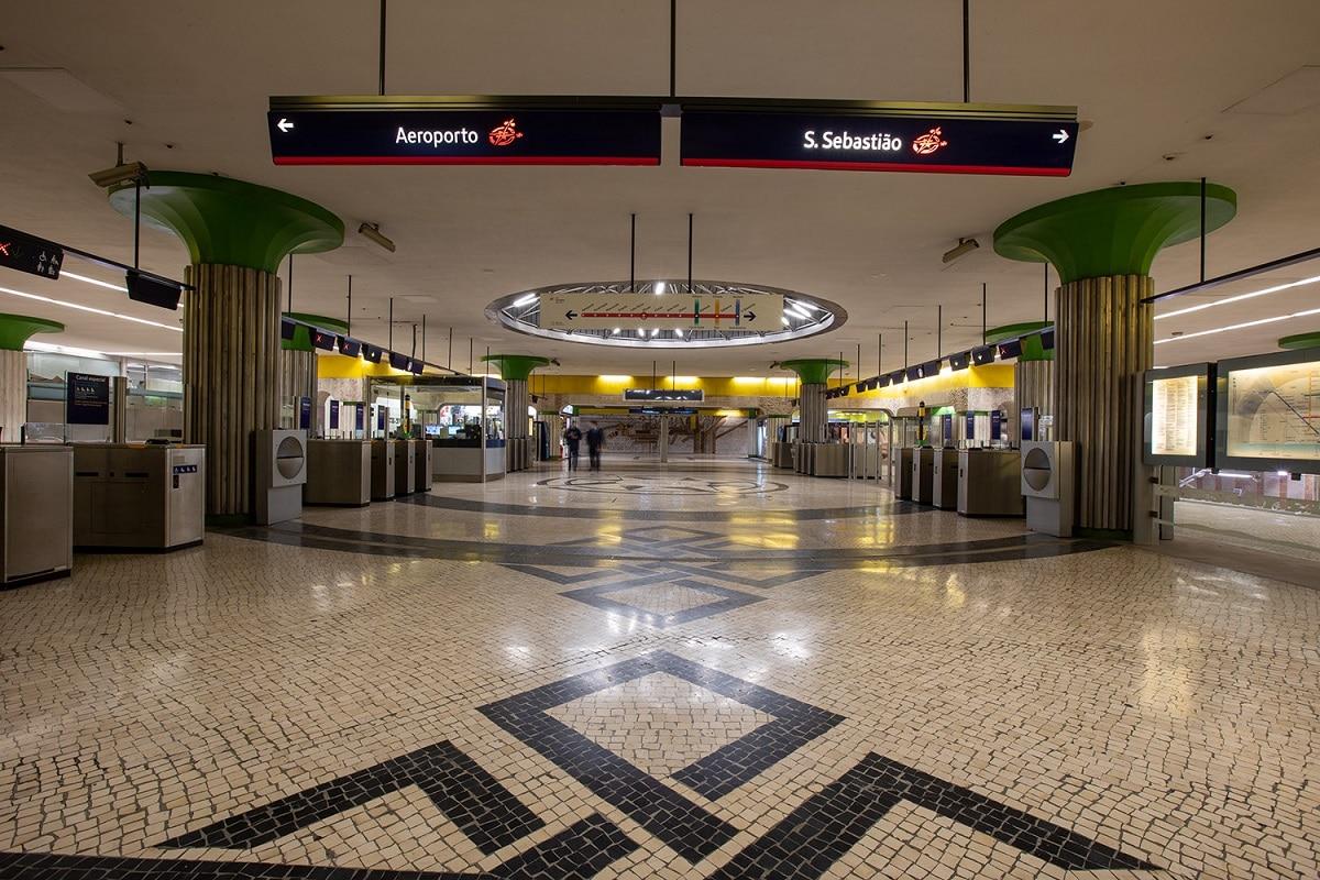 Metro dos Olivais
