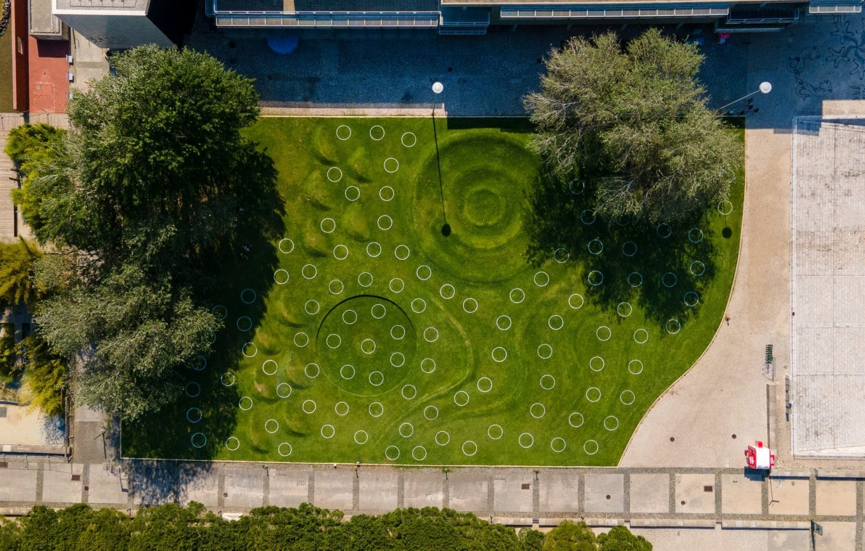 jardim das ondas no parque das nações