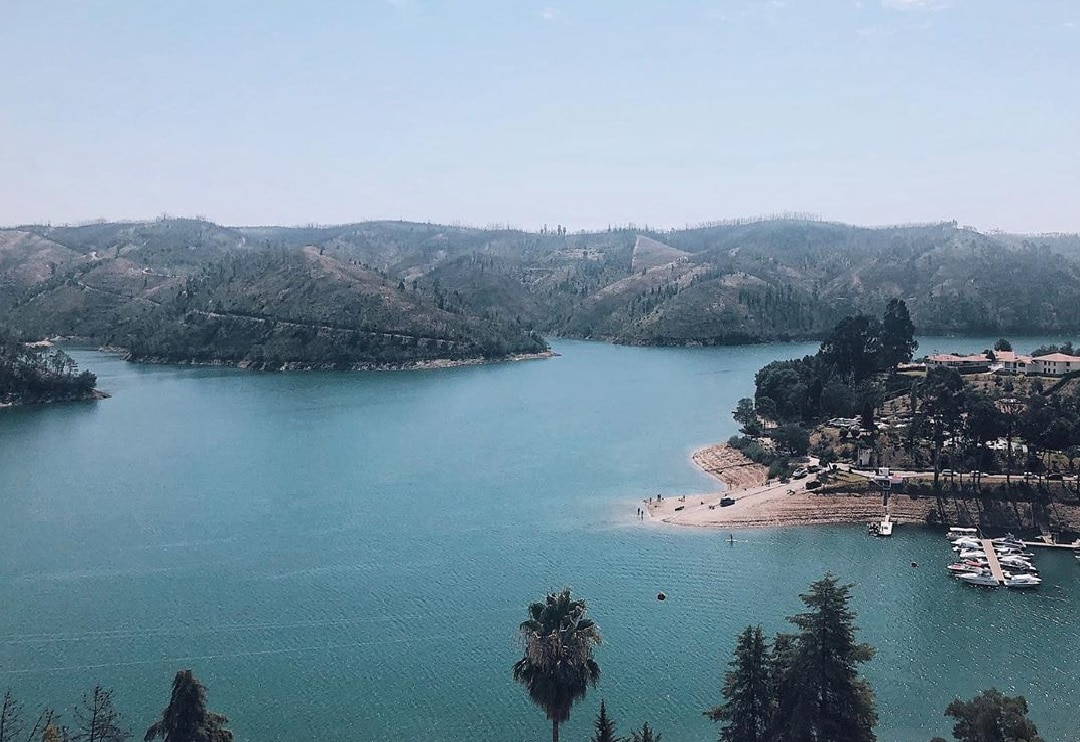 Lago Azul em Ferreira do Zêzere