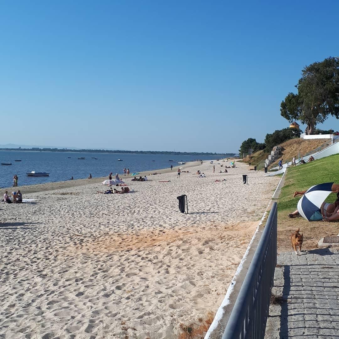 Praia do Rosário na Moita