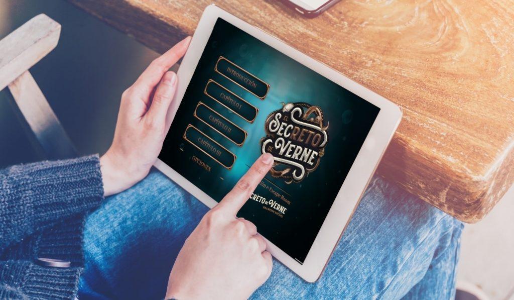 O Segredo de Verne: o primeiro campeonato de e-EscapeRoom