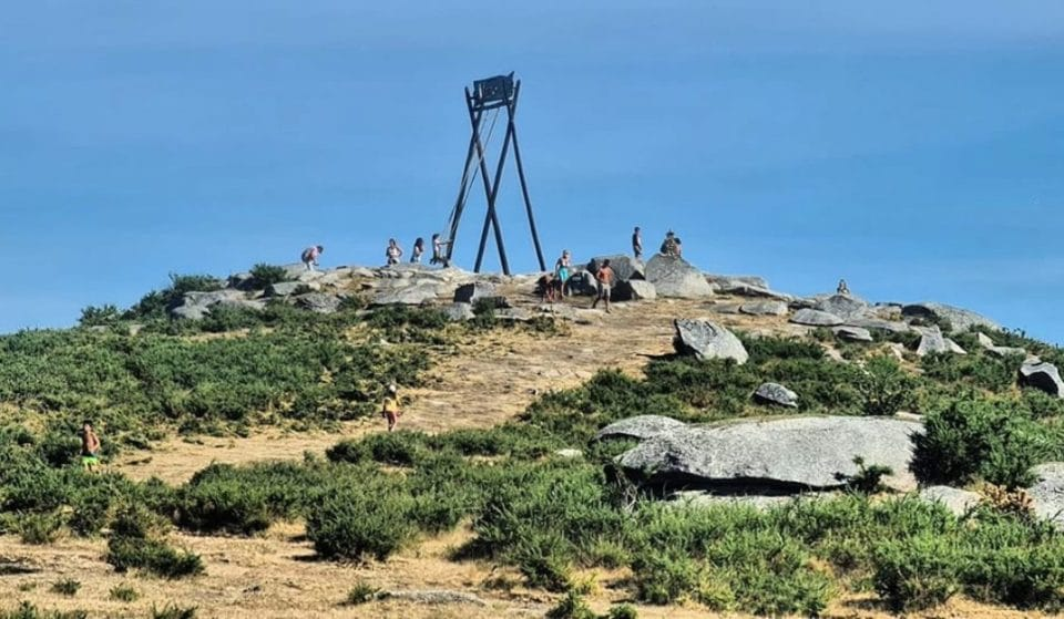 O maior baloiço de Portugal tem vista para o Gerês e o acesso é livre