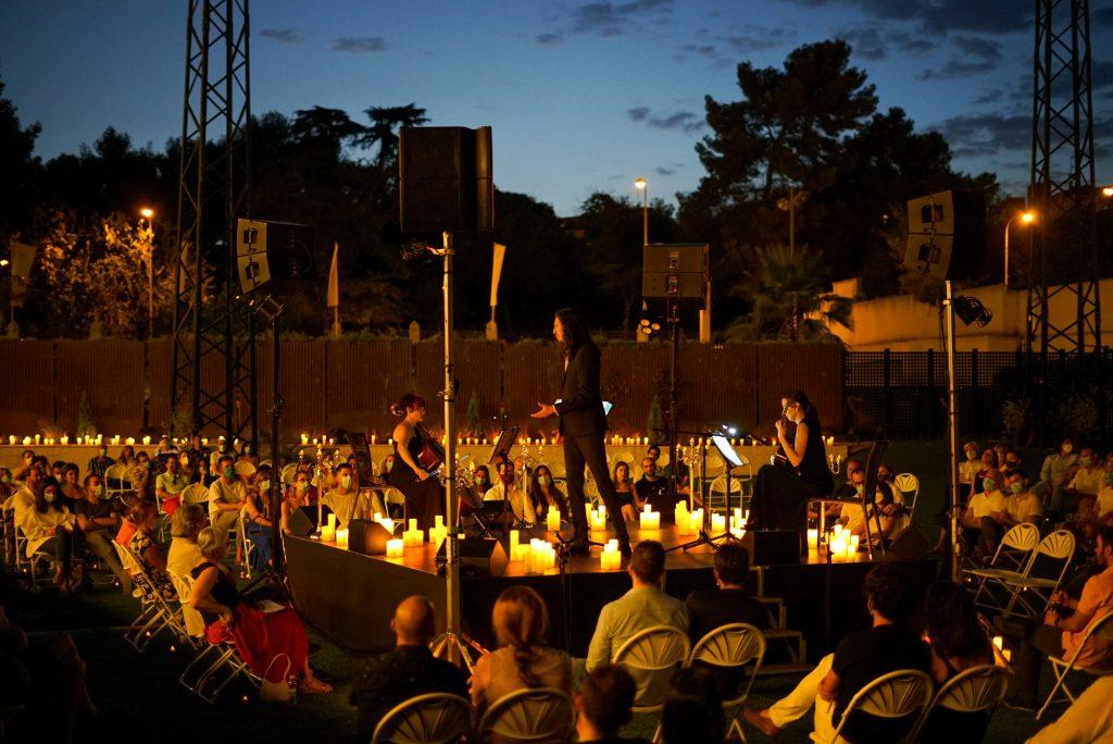 concerto candleligh em espanha