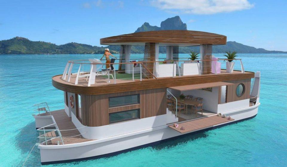 Em breve poderás passear por Bora Bora nestas vilas ecológicas flutuantes