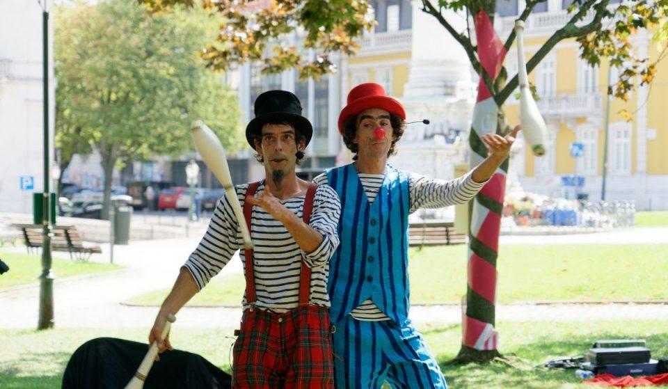 Circo e outras atrações para ver nas ruas da Freguesia de Arroios