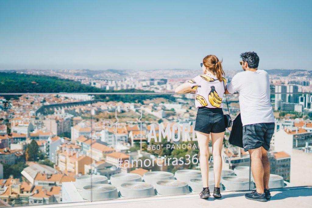 Entradas gratuitas e visitas noturnas em setembro no Amoreiras 360º Panoramico View