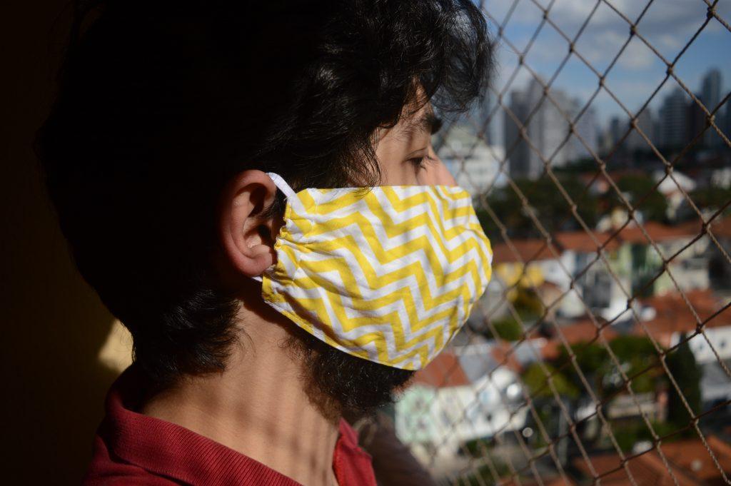 CORONAVÍRUS: Governo aprovou uso obrigatório de máscara na via pública