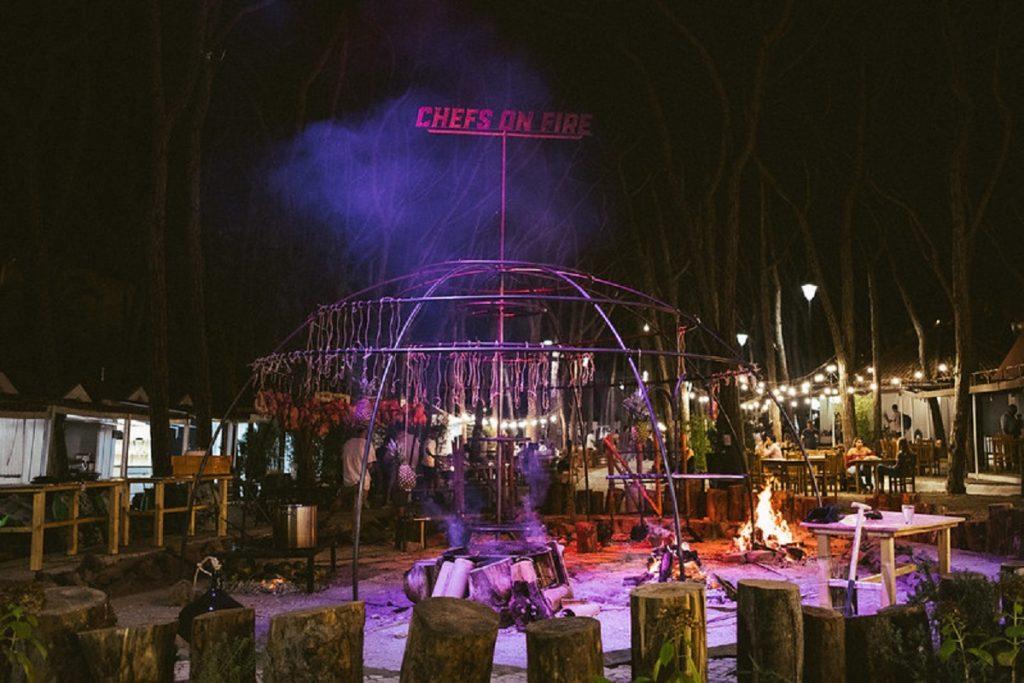 O Chefs on Fire está de regresso com 48 horas de fogo, concertos e gastronomia