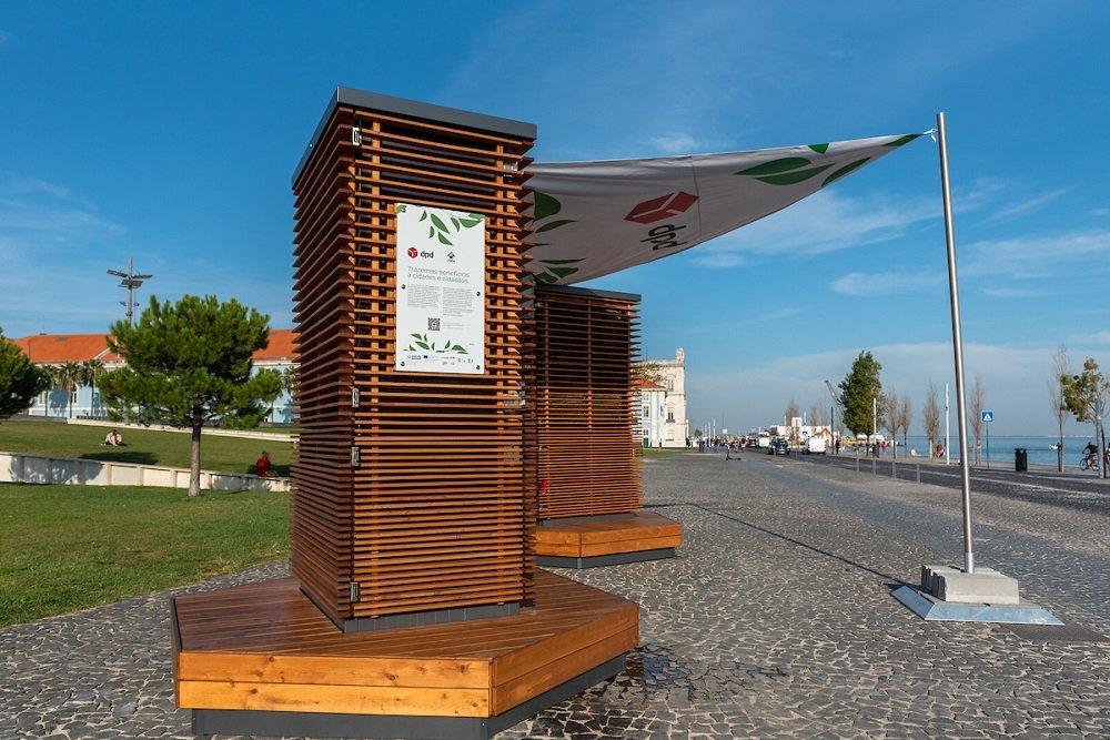 Lisboa é a primeira cidade a receber as City Trees