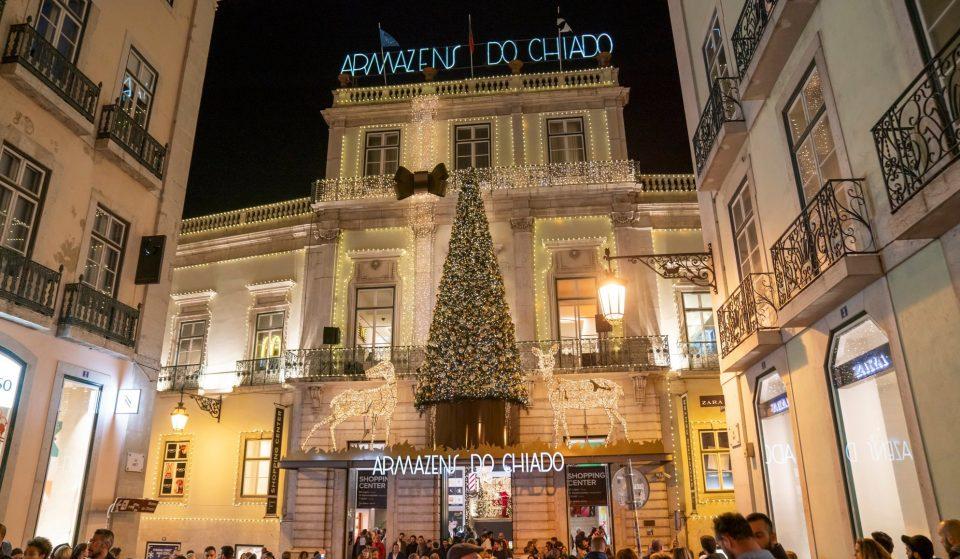 Armazéns do Chiado acendem luzes de Natal este sábado, dia 31 de outubro