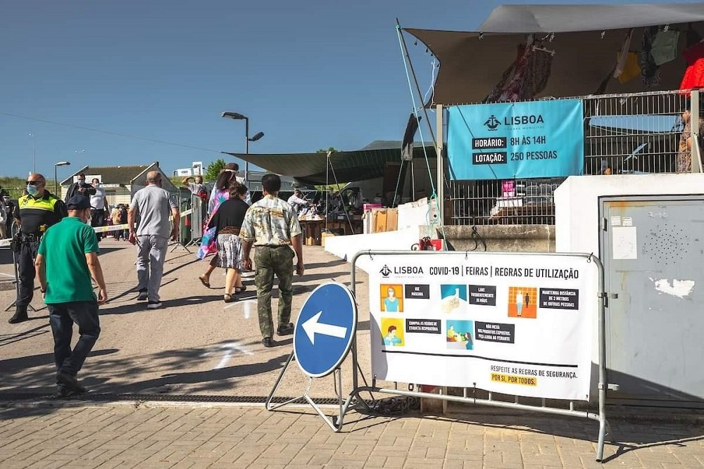 Feiras e mercados de levante vão manter-se abertos na Área Metropolitana de Lisboa