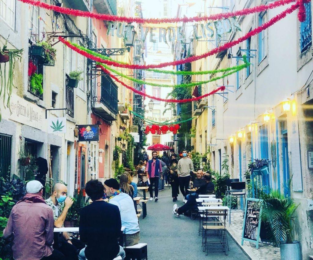 A história da Rua Verde em Lisboa
