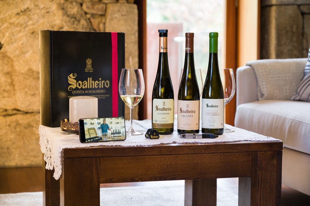 Soalheiro Digital Tasting: uma prova de vinhos virtual para desfrutar em casa