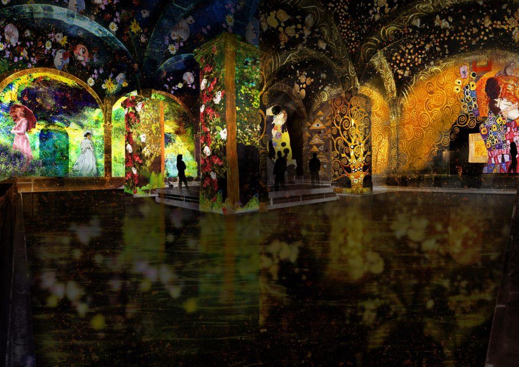 Monet e Klimt no Reservatório da Mãe d'Água das Amoreiras num espetáculo imersivo único