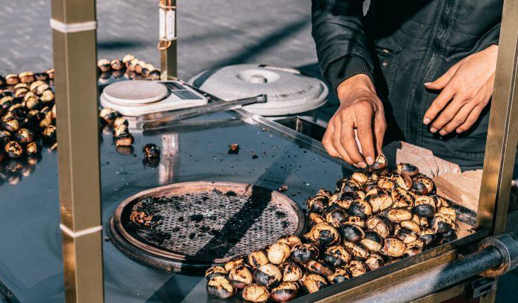 Guia para comeres as melhores castanhas assadas na cidade