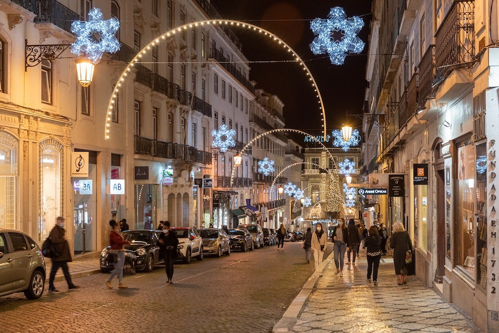 Montras de Natal em Lisboa podem ser admiradas de 1 a 25 de dezembro