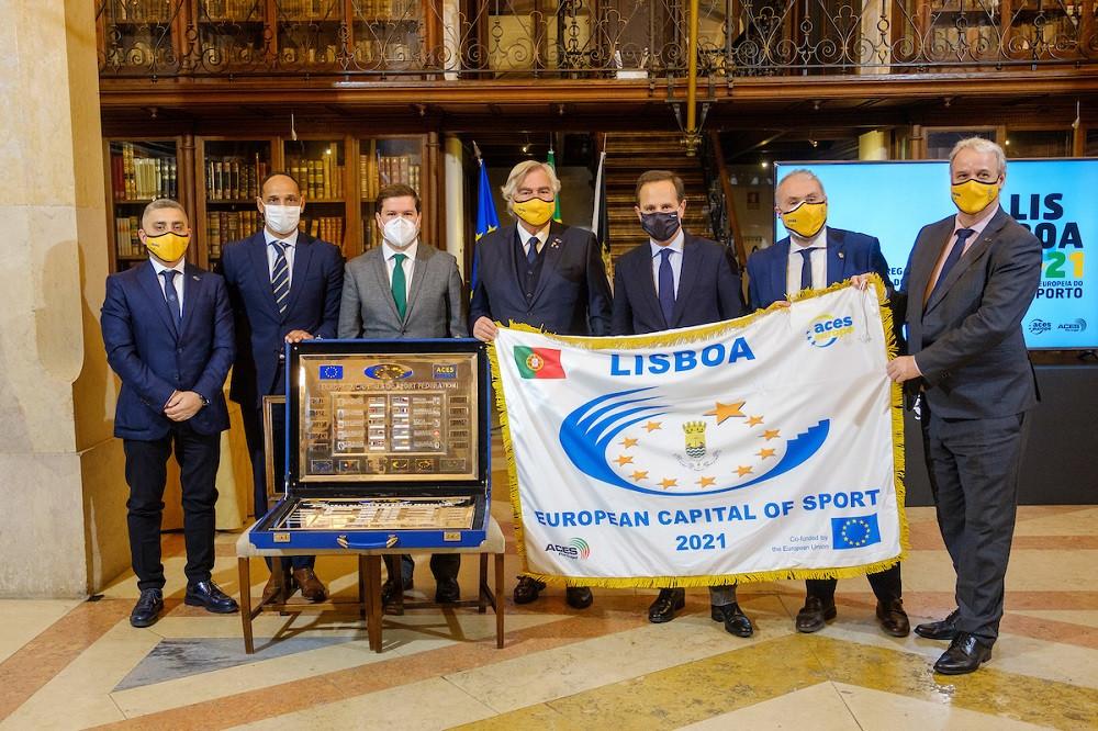 Lisboa é Capital Europeia do Desporto em 2021