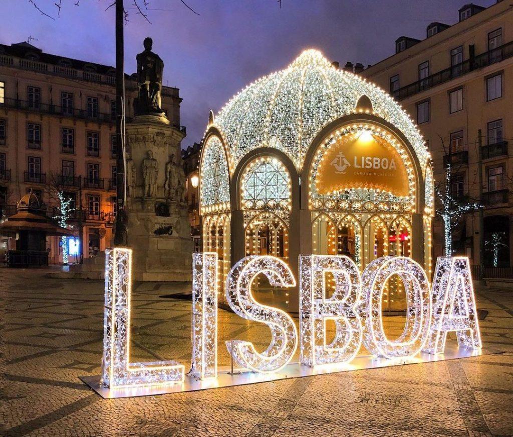 As luzes de Natal em Lisboa… pela lente dos nossos leitores