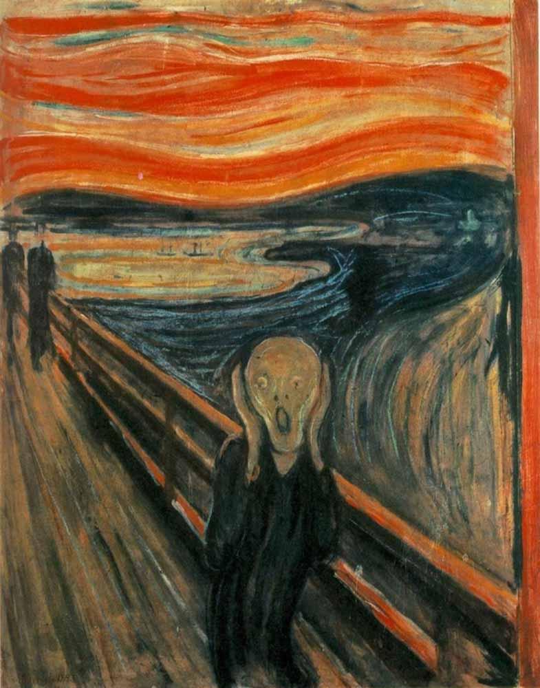 O Grito de Edvard Munch - visita virtual