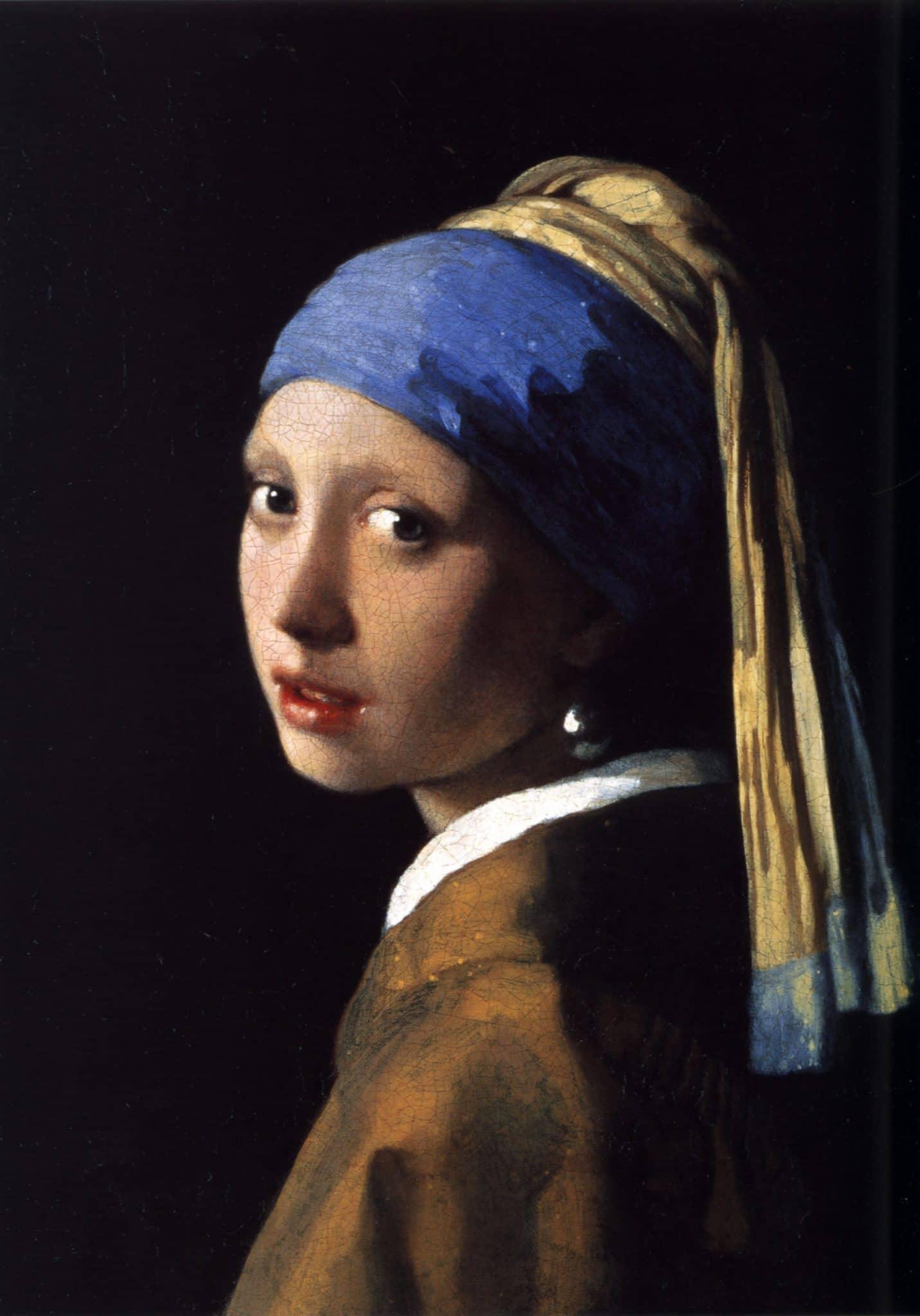 rapariga com brinco de pérola de vermeer - visita virtual