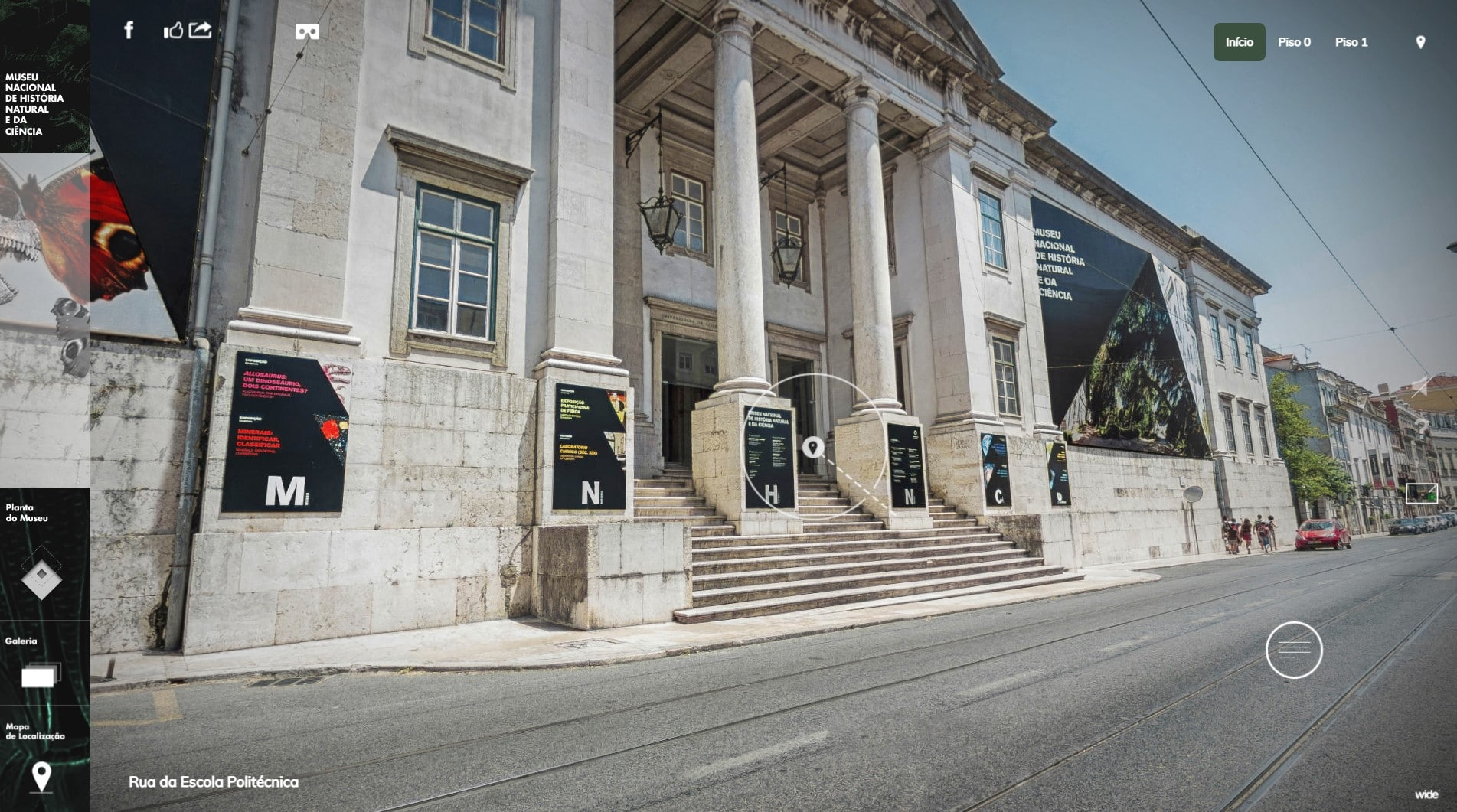 museus nacionais - visita virtual museu história natural