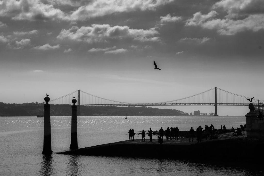 Lisboa Hoje: 15 fotos a preto e branco