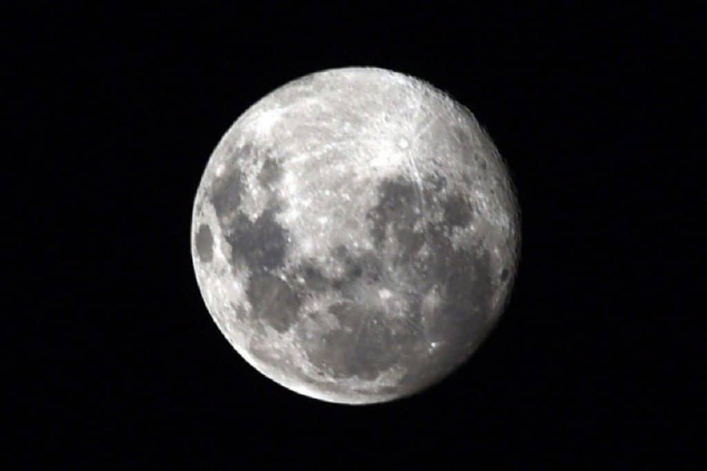 A Lua da Neve despede-se de fevereiro