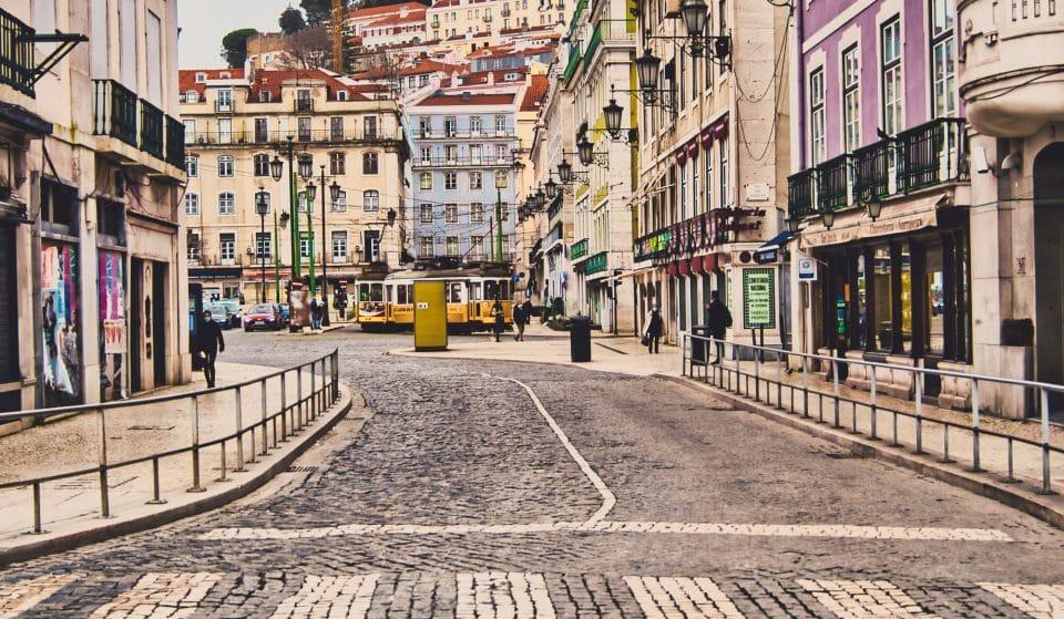 Rua da Betesga, uma das mais pequenas da cidade