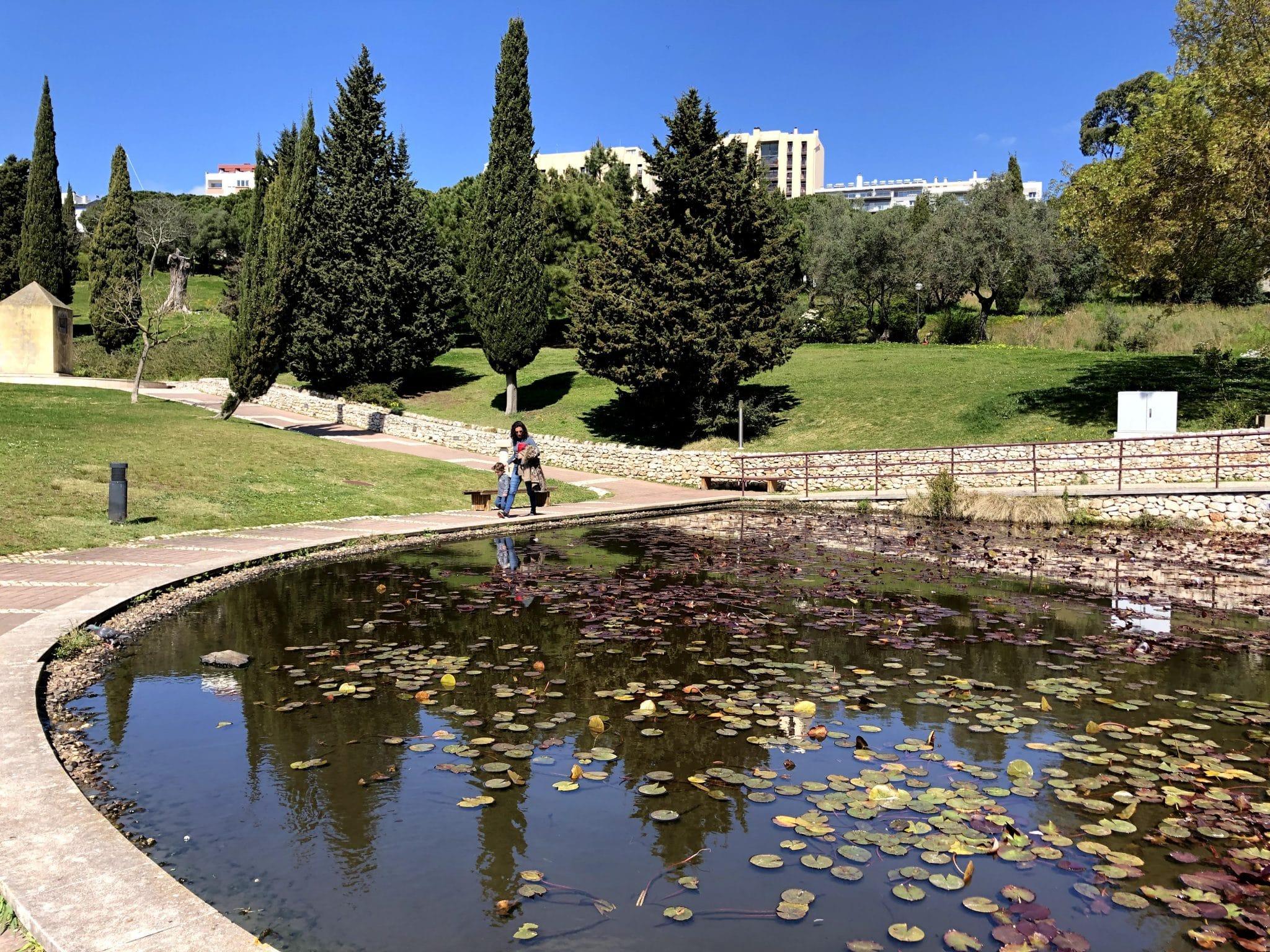 lago Parque Recreativo dos Moinhos de Santana