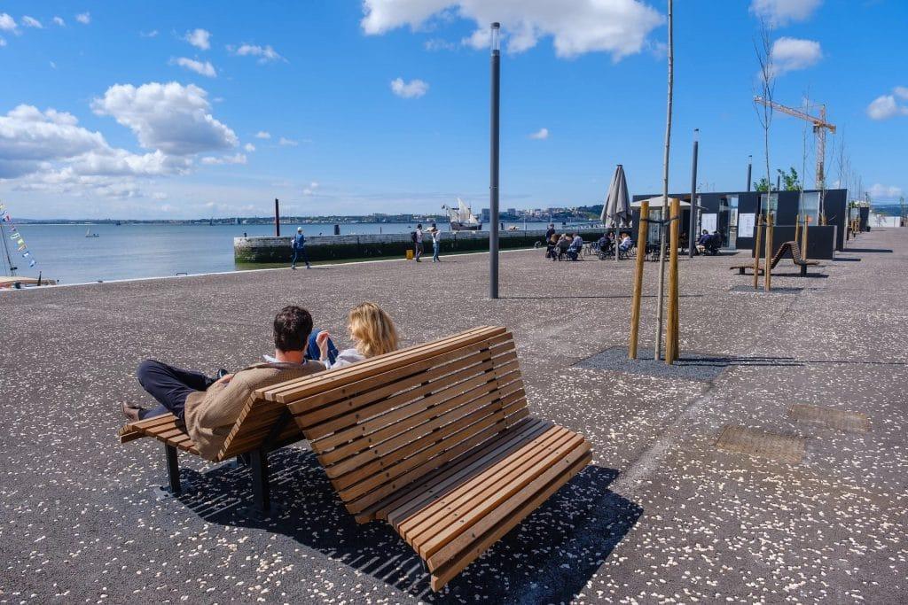 A Caminhar por Lisboa: já visitaste a renovada zona de lazer da Estação Sul e Sueste?