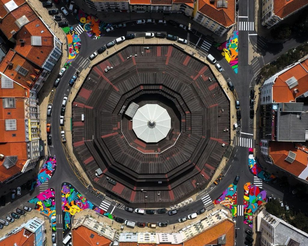 Os melhores artistas de Street Art do país têm a sua marca em Lisboa