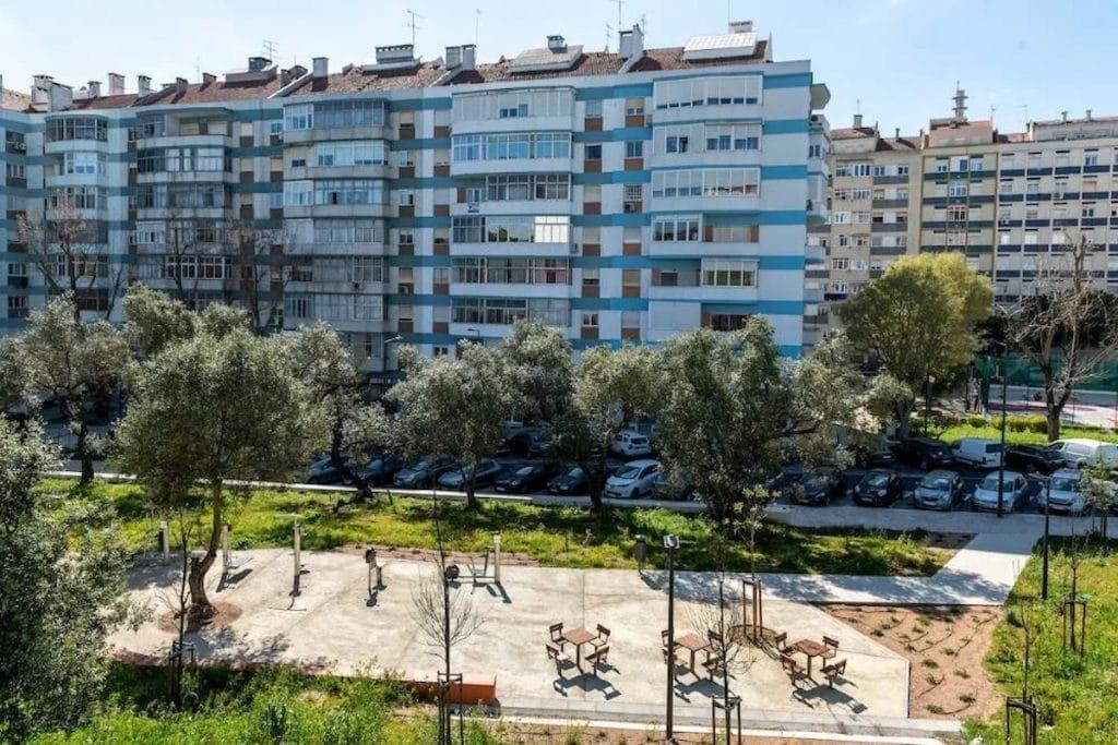 Lisboa tem um novo jardim com parque infantil, equipamento de fitness e zona canina