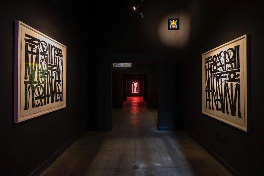 Este museu de arte urbana é provisório e ficará na cidade até julho