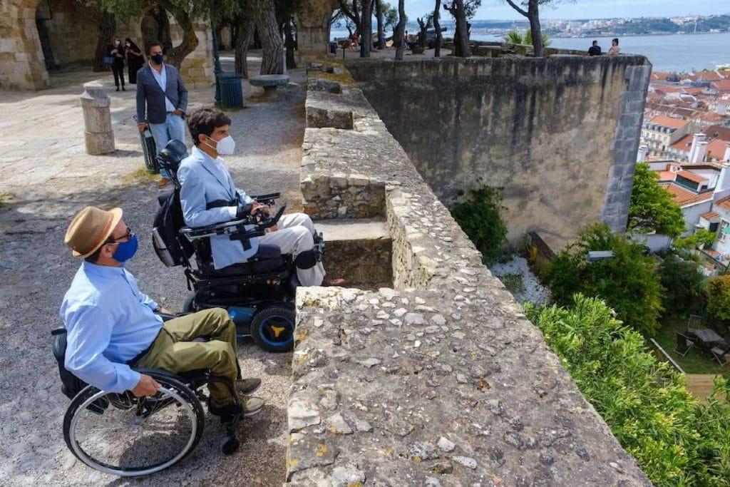 Castelo de São Jorge já é acessível a pessoas com mobilidade reduzida