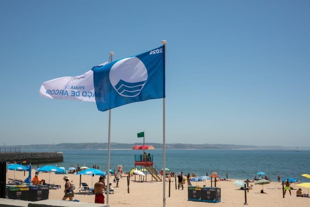 Área Metropolitana de Lisboa tem 19 praias com Bandeira Azul em 2021