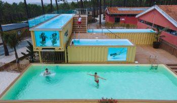 Portugal tem a piscina mais alta da Europa... fica na Nazaré