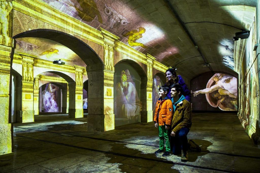 Michelangelo & Da Vinci, a experiência imersiva tem descontos a partir de agosto