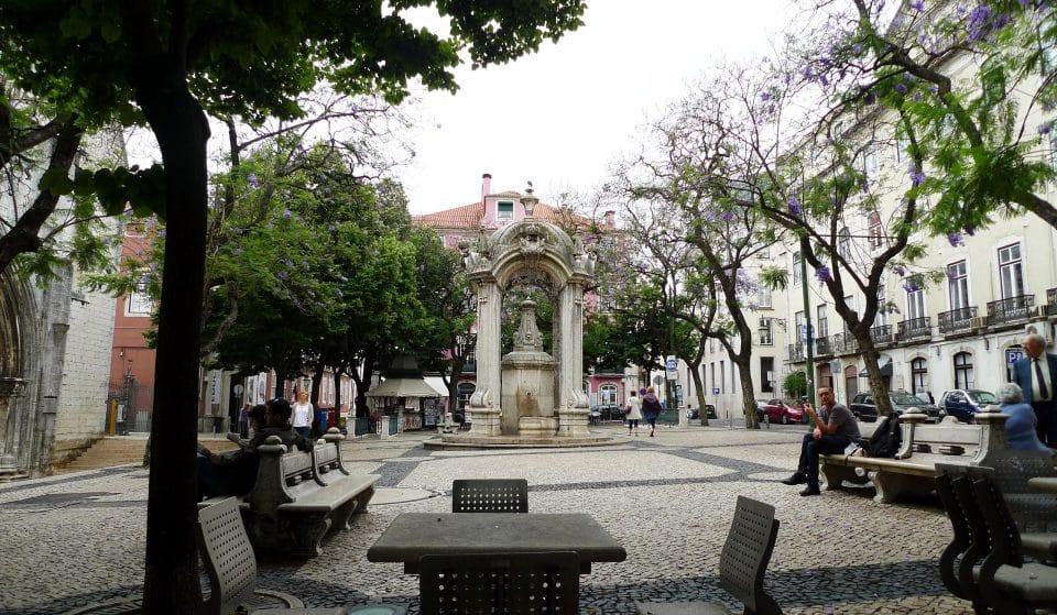 Largo do Carmo, um dos mais famosos da cidade de Lisboa, e do país